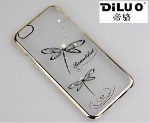 China Custom Diamond Bling Case For iPhone 6/6 Plus on sale