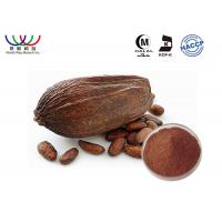 China Dark Pure Cocoa Extract Powder  , Organic All Natural Cocoa Butter Extract on sale