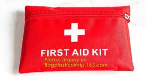 China First aid trauma kit canvas pack with medical blanket,first aid kits for family medical grade,Camping Hiking Car First A on sale