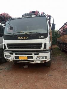 China 52M Used Concrete Pump Truck and SANY 52m concrete pump truck on sale