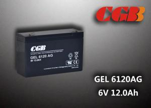 China 12AH GEL6120AG GEL AGM Lead Acid Rechargeable Battery For Solar System on sale