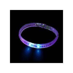 China LED flashing necklace on sale