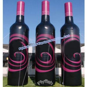 China inflatable wine bottle on sale