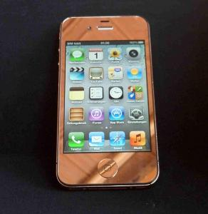 China for iPhone 4G rose gold full set lcd digitzer+back cvoer+home button+mid bezel assembly on sale