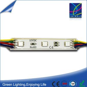 China 5050 smd rgb led module 12V waterproof 0.72W on sale