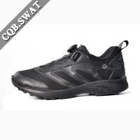 New Design Fashion Anti-skid Men Footwear  Knob Low Boots, Police Black Shoes for Summer