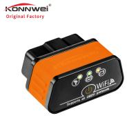Small Wireless Obd2 Scanner Iphone For Car Support ISO 9141 Protocols