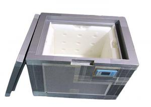 China PU - VIP Vacuum Insulation Panels Thermo Cooler Box 21L For Cold Chain Transport on sale