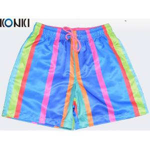China OEM Sublimation Multi Colors Custom Pants Swim Shorts / Beach Shorts For Skate Surf on sale