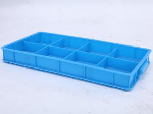China 8 Compartment Part Box , Plastic Crate on sale