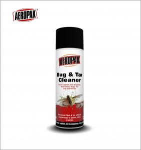 China AEROPAK 500ml High Efficiency Bug&Tar Cleaner For Car Cleaning&Washing on sale