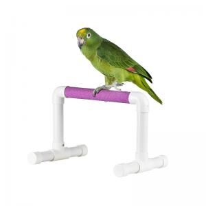 Pvc Sand Perch Table Top Bird Stands For Large And Macaw Color Vary