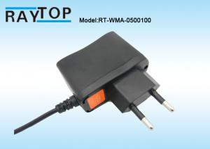 China EU Plug 5V 1000mA Wall Mount Switching Power Adapter For CCTV Camera System on sale