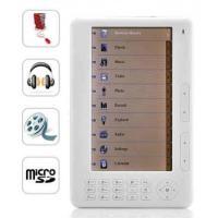 Backlight Adjustable 7 inch Handheld Ebook Reader With Smart Search, Ten Shortcut Keys