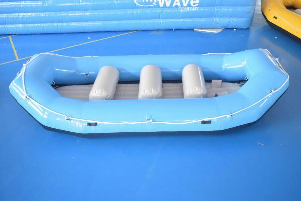 Inflatable Rafting Boat / Whitewater Raft For Adventure Games for