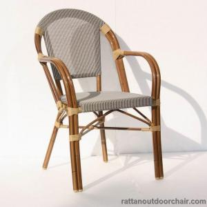China LJC034 bistro stackable aluminium relaxing chair on sale