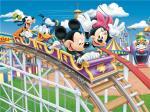 High Glossy Surface Bamboo Fiber Board Cartoon Mickey And Donald Fireproof