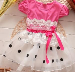 China Yellow Child clothes Dresses Summer Wear on sale