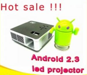 China Pocket projector, Android 2.3 portable led projector on sale