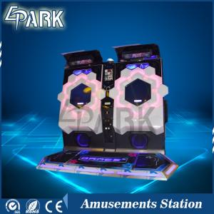 China Entertainment Interactive Shock Sound Cube Arcade Dance Machine Coin Operated on sale