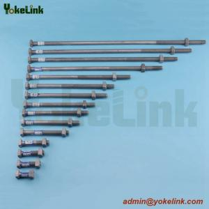 China High Quality Forged Steel ASME B18.2.6 Heavy Square Bolt with nut on sale