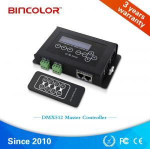 China High quality Bincolor  DC9V RF remote RGB LED light switch dmx512 contro led DMX Controller, DMX master controller on sale