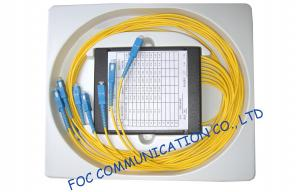 China Compact Fused Biconical Taper FBT Coupler , optical fiber coupler for LAN Systems on sale