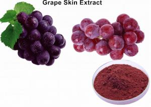China 30% Polyphenols Natural Food Pigments Grape Skin Extract For Food Color Antioxidant on sale