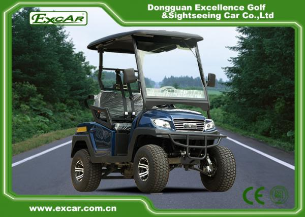 EXCAR 2 Seater Small Electric Buggy Golf Cart With PC Windshield for on