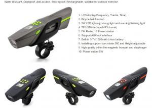 China 可聴周波Featurの防水を、の屋外の練習のために適した反傷、再充電可能耐震性ちり止め自転車に乗って下さい。 on sale