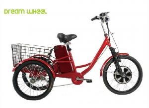 China Pedals Assisted Electric Mobility Scooter , Electric Cargo Trike 36V 350W Motor on sale