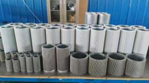 China Stainless Steel 316L Corrugated sintered filter for high temperature gas on sale