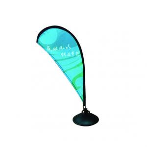 China Tabletop Promotional Flags And Banners ,  Mini Teardrop Banner Flags on sale