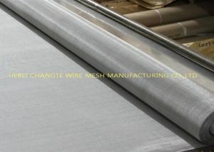 China Flat Topped Stainless Steel Screen Wire Mesh on sale