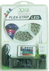 China Led Strip with 24key Remote and power supply, RGB Blister Led Strip, DC12V LED Strip Kit on sale