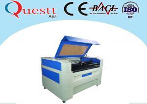 China línea máquina de grabado del laser del CO2 de la anchura 100W de 0.05m m para la refrigeración por agua del cuero del dril de algodón on sale