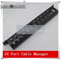 AMP Type Rack Cable Manager 19Inch Standard 24Port Patch Panel Management Data Voice Wire