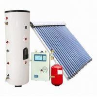 Split solar water heating system with EN 12975 standard