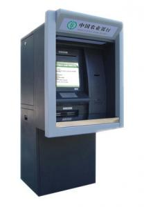 China Wall through High Safety Currency Exchange Kiosk with bill dispenser on sale