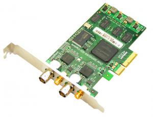 China 3G/HD/SD SDI Video Capture Card with loop output, 2 ports PCI-Express 1080p/60hz on sale