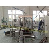 250 - 1000ml PET Plastic Bottle Filling Machine , Pure Drinking Water Making Machine