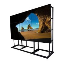 Educational Seamless Video Wall Lcd Monitors , Ultra Narrow Bezel Multi Screen Tv Wall