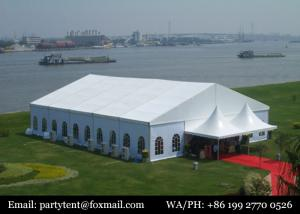 China 200 People Outdoor Used Aluminium Luxury Party Tents For Events Wedding on sale