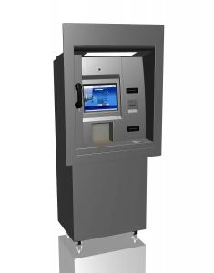 China Stainless Steel ATM Kiosk Enclosure on sale