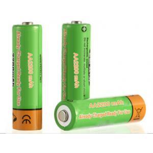 China NiMH Battery AA2200mAh 1.2V Ready to Use on sale