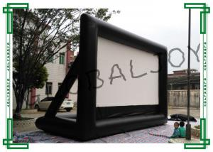 China Commercial Outdoor Inflatable Projector Screens / Airscreens on sale
