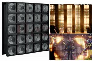 China 5*5 25 Eyes LED Stage Wash Lights / Matrix LED Lights RGB 3 In 1 Color on sale