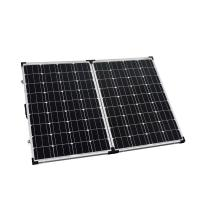 High Efficiency Solar Panel Waterproof 2 x 100W Low Iron Tempered Glass