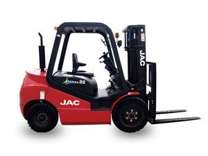 China 1 Ton Gasoline Forklift Truck , Gas Powered Forklift High Performance Low Noise on sale