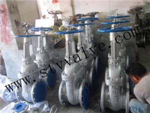 China Flange End Gate Valve Astm A216 WCB Flanged Gate Valve Flange Type Gate Valve on sale